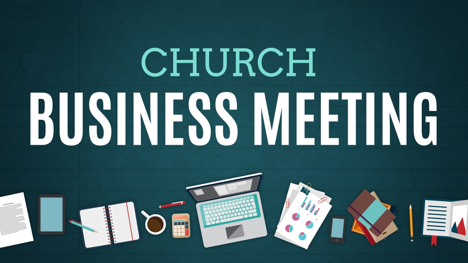 church business meeting